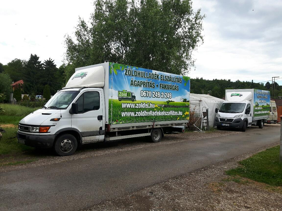 Zöldhulladék szállítás - Zoldel.hu